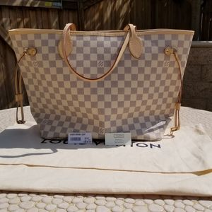 Azur Neverfull MM new authentic 100%